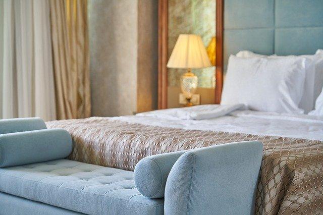chambre où il est facile de dormir