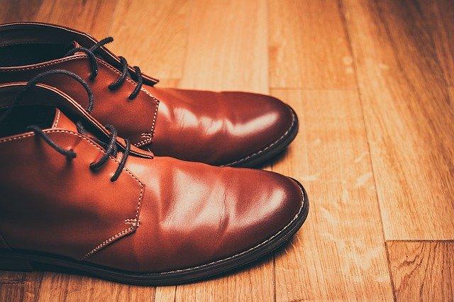 chaussures montantes pour homme marron