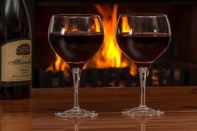 deux beaux verres de vin