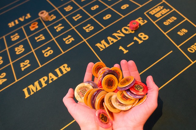 paris sur une table de roulette