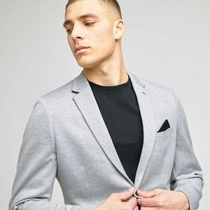 blazer tshirt noir